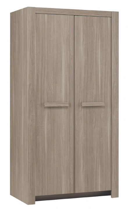 Hangun Graphite Two or Three Door Wardrobe